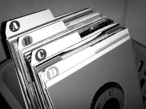 Filotrax-7-034-Vinyl-A-Z-Filing-Kit-Record-Dividers-for-seven-inch-singles