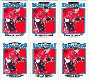 2016-17-Upper-Deck-Series-2-OPC-Update-THOMAS-CHABOT-Retro-RC-Card-683-Lot-of-6