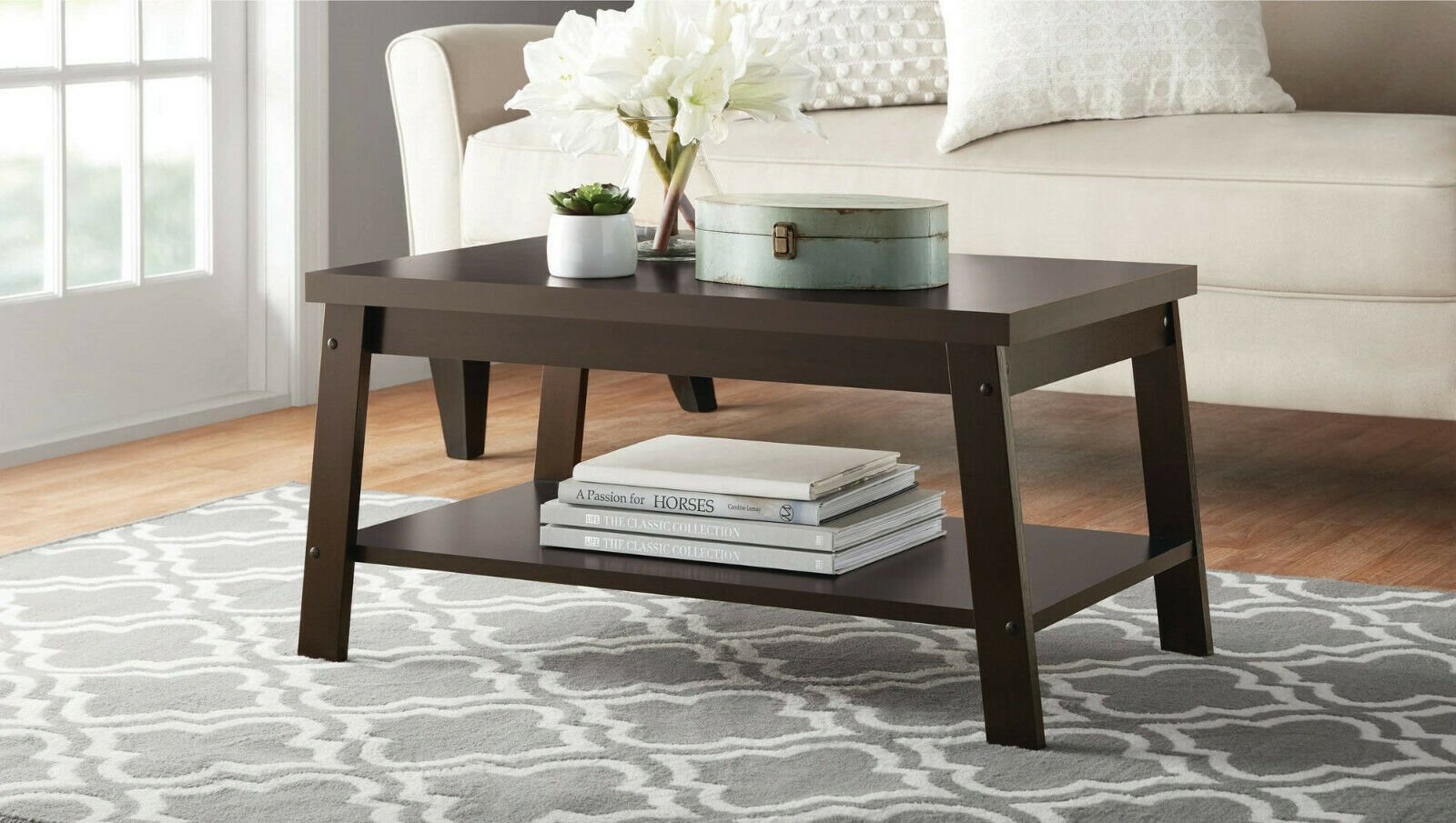Southampton Wood Veneer Coffee Table Espresso For Sale Online Ebay
