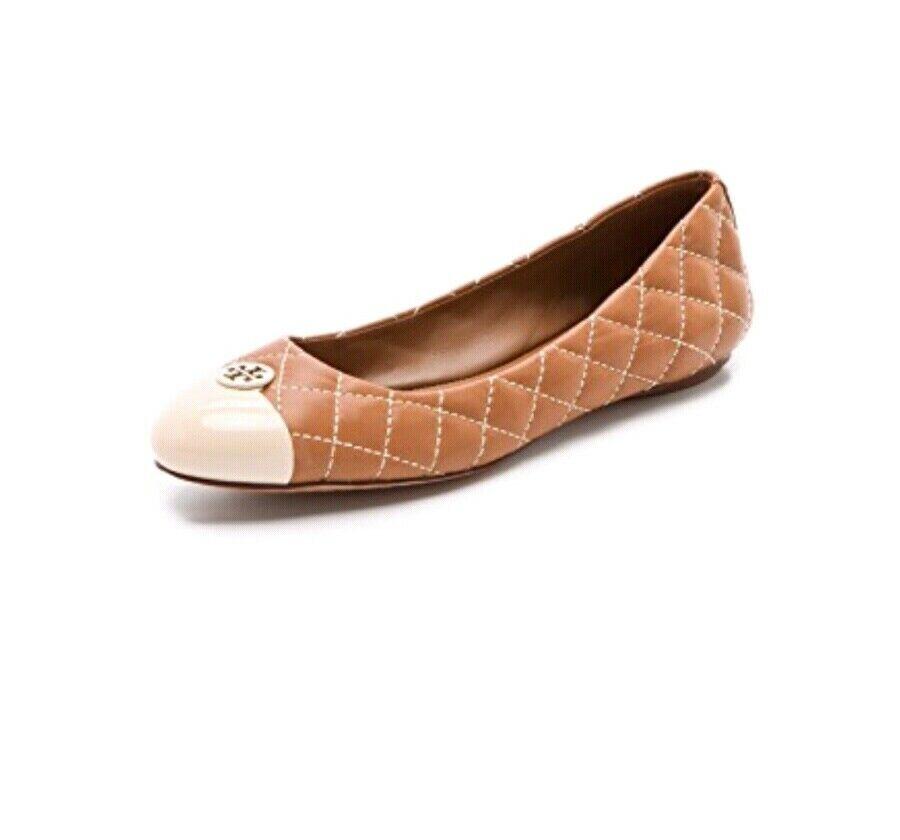 Tory Burch Kaitlin Quilted  Leather Ballet Flats Dimensione 7.5 con sacchetto di polvere  vendita online sconto prezzo basso