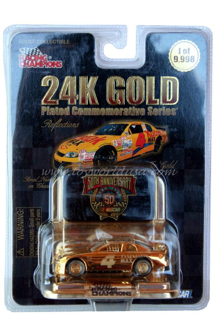 RC 24K gold Plated Bobby Hamilton Chevrolet Monte Carlo Kodak Max