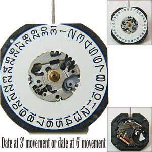 VX42E-Quartz-Movement-Date-At-3-039-at-6-039-Watch-Rechange-Pieces-Pour-Montre-Nouveau