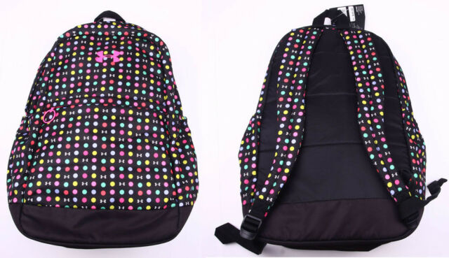 f3713461856d Under Armour UA Favorite Girls Backpack Storm backpack Black MULTI COLOR DOT