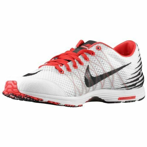 Nike Lunarspider R 3-Mens Running shoes - (524963-106) WHITE BLACK UNIVERSITY RED