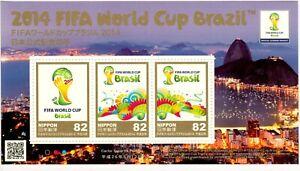 JAPAN-GIAPPONE-2014-FIFA-WORLD-CUP-BRAZIL-MNH-FOOTBALL-CALCIO-COPPA-MONDO