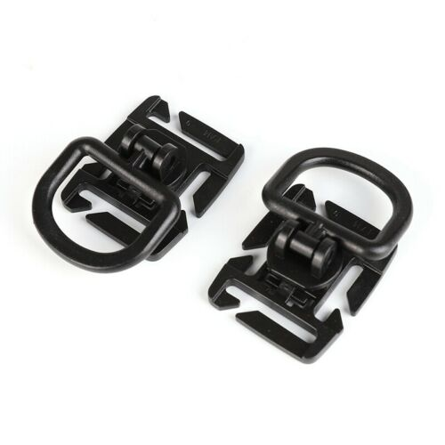 30Pcs//set Tactical Gear Clip Strap for Molle Backpack Webbing Attachments D Ring