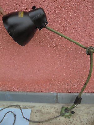 Geschickt 29314 Lbl Gelenklampe Ddr Werkstattlampe Bauhaus Bakelit Kpl Shabby Chic Retro