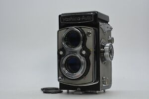 RARE [MINT IN CASE] Yashica-Auto YashicaMat gray Twin Lens Reflex TLR 120 6x6