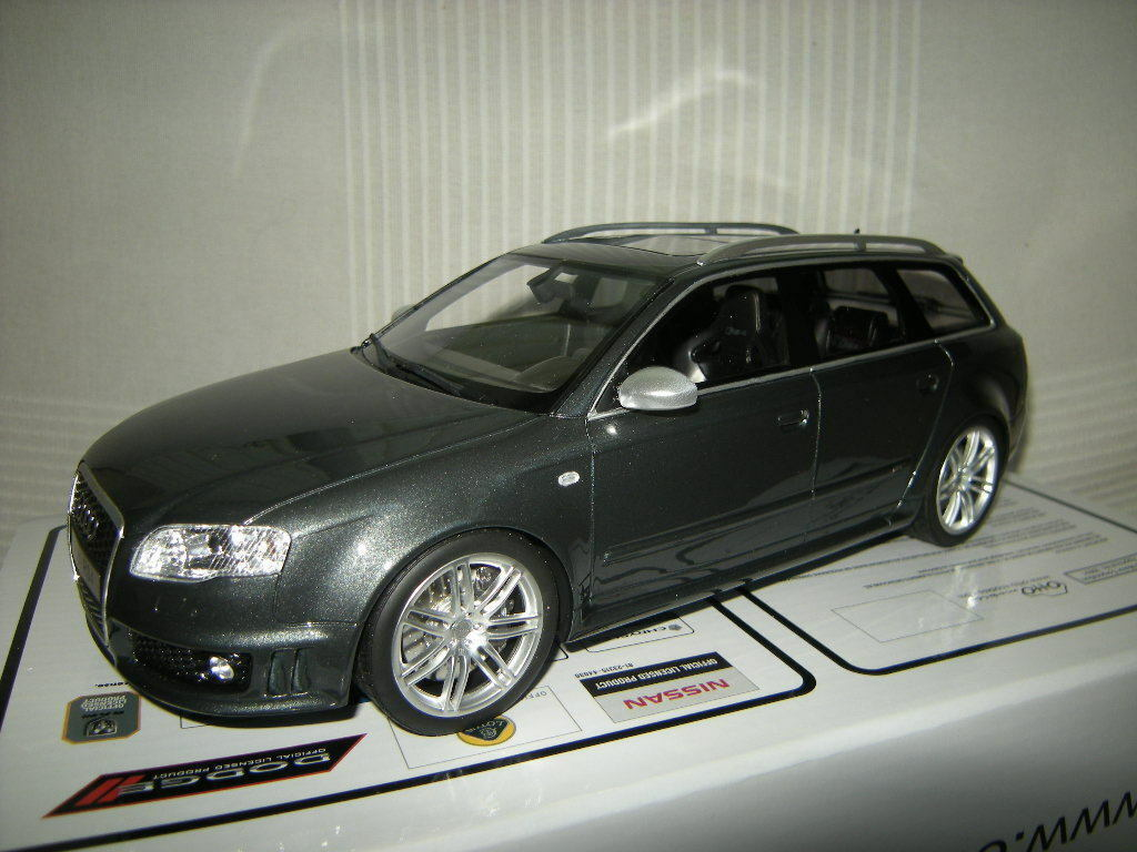 1 18 Otto Mobile audi rs4 Avant tipo b7 grigio Limited Edition 1 of 999 PCs. en OVP