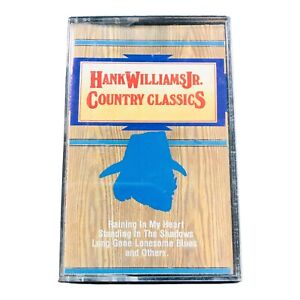Hank Williams Jr. Country Classics (Cassette, 1987, PolyGram Records)