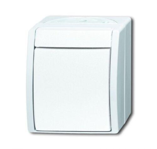 alpinweiß 2601//6 W-54 B+J ocean® Wippschalter Wechselschalter