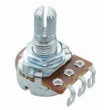Mono Geradelinig//Logarithmischer 16mm Potentiometer Töpfe W Schalter