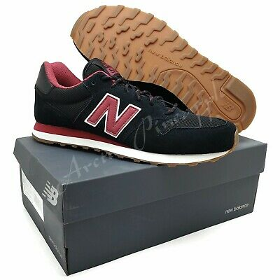 New Balance Men's US Size 10.5 D - 500 Classic Black/Red GM500SF New In Box | eBay