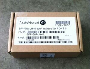ALCATEL-LUCENT-GENUINE-SFP-GIG-LH40-TRANSCEIVER-IPUIBDBDAA-BRAND-NEW-SEALED