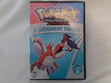 Pokemon Advanced Battle - Vol. 8: A Judgment Brawl (DVD, 2007, Dubbed)