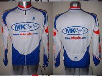 Giordana Shirt Jersey Top Adult XXL Cycling Cycle Bike MK Cycles L/S Top White