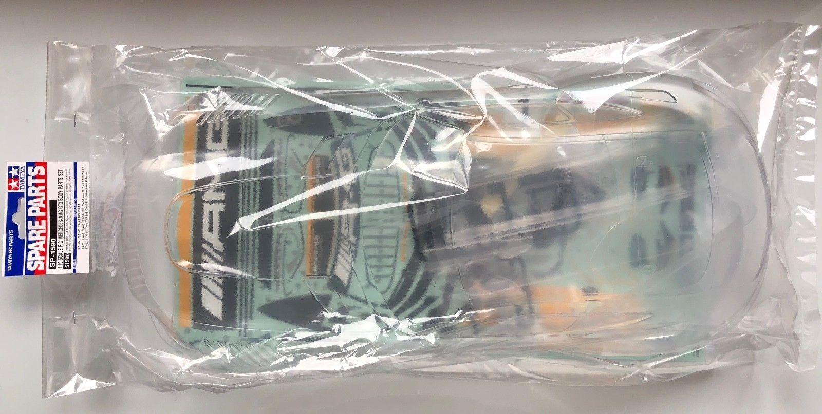 TAMIYA 1 10 CARROZZERIA IN LEXAN CON ADESIVI ADESIVI ADESIVI MERCEDES AMG GT3 ART 51590 SP-1590 c98468