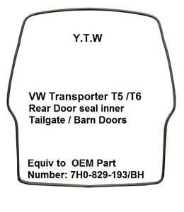 VW-TRANSPORTER-T5-T6-REAR-TAILGATE-BARN-DOORS-RUBBER-SEAL-NEW