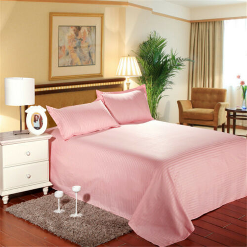 Bedding Striped Cotton Bed Sheet 160x220 CM 200x240 CM 230*240 CM 240x260 CM