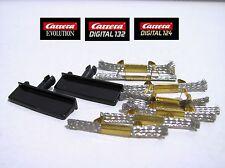 Carrera Evolution/ Digital 124/132 Doppelschleifer 8St. und 2 Leitkiele -20366
