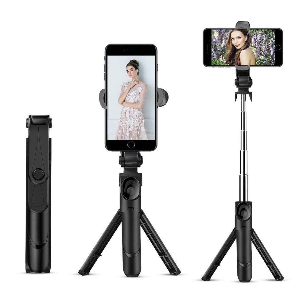 Adjustable Bluetooth Selfie Stick w/ Wireless Remote Extenda