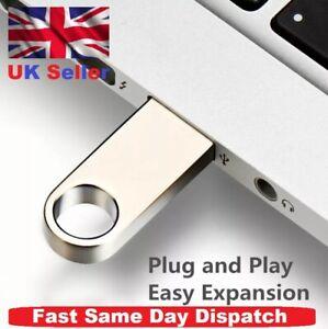 Mini Metal USB 2.0 Flash Memory Stick Pen Thumb Key Drive 4/8/16/32/64/128/256GB
