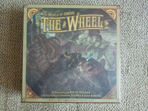 Rise of Moloch Kickstarter Expansion The Wheel The World of SMOG