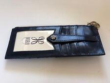 Linn NWT Women/'s Hobo International Leather Card Case Wallet Cosmo Snake