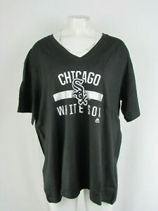 Chicago White Sox MLB Majestic Women's Plus Size T-Shirt