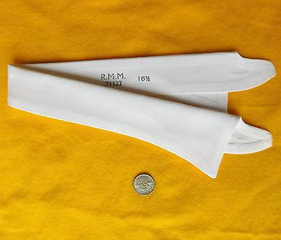 Semi-stiff shirt collar size 16 1/2 White UNUSED vintage RMM 1950s 1960s mens