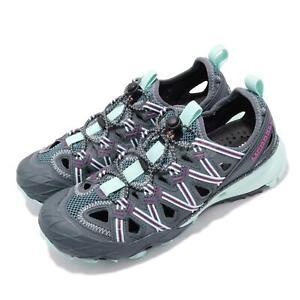 e46ba20f1fde Merrell Choprock Shandal Blue Smoke Grey Purple Women Outdoors Water ...