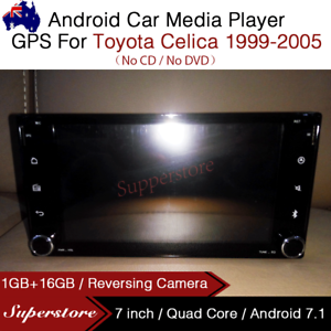 "7/"" Quad Core Android 7.1 Car Media Player GPS Head Unit For Toyota Celica"
