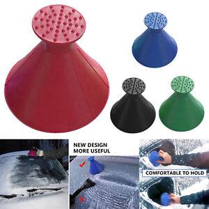 Magischer Auto-Windschutzscheiben-Eiskratzer-kegelförmiger Schnee-Entferner
