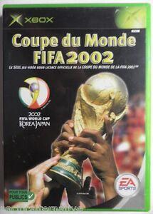 Jeu-COUPE-DU-MONDE-FIFA-2002-sur-microsoft-XBOX-francais-game-de-foot-sport-1