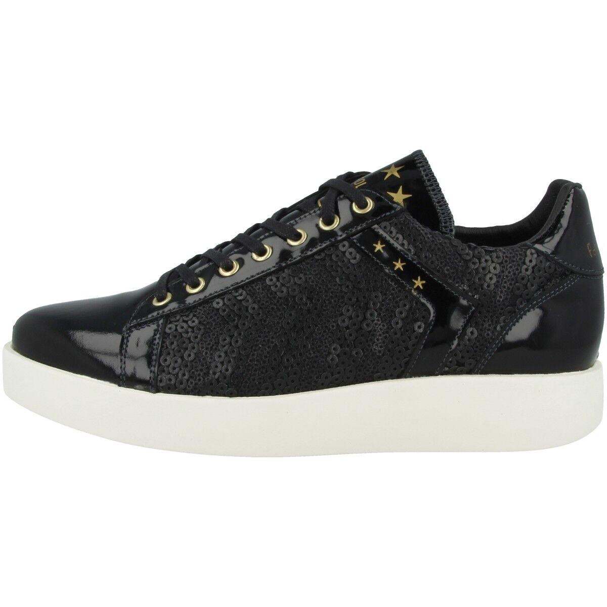 Pantofola D gold Lecce Pailette Donne Donne Donne Low shoes Women's Sneakers Black 10181051.2 515c88