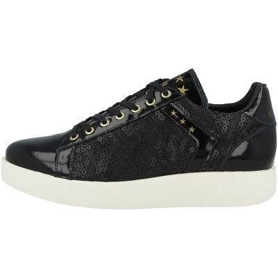 Accurato Pantofola D Oro Lecce Pailette Donne Low Scarpe Sneaker Donna 10181051.25y Black- Per Migliorare La Circolazione Sanguigna