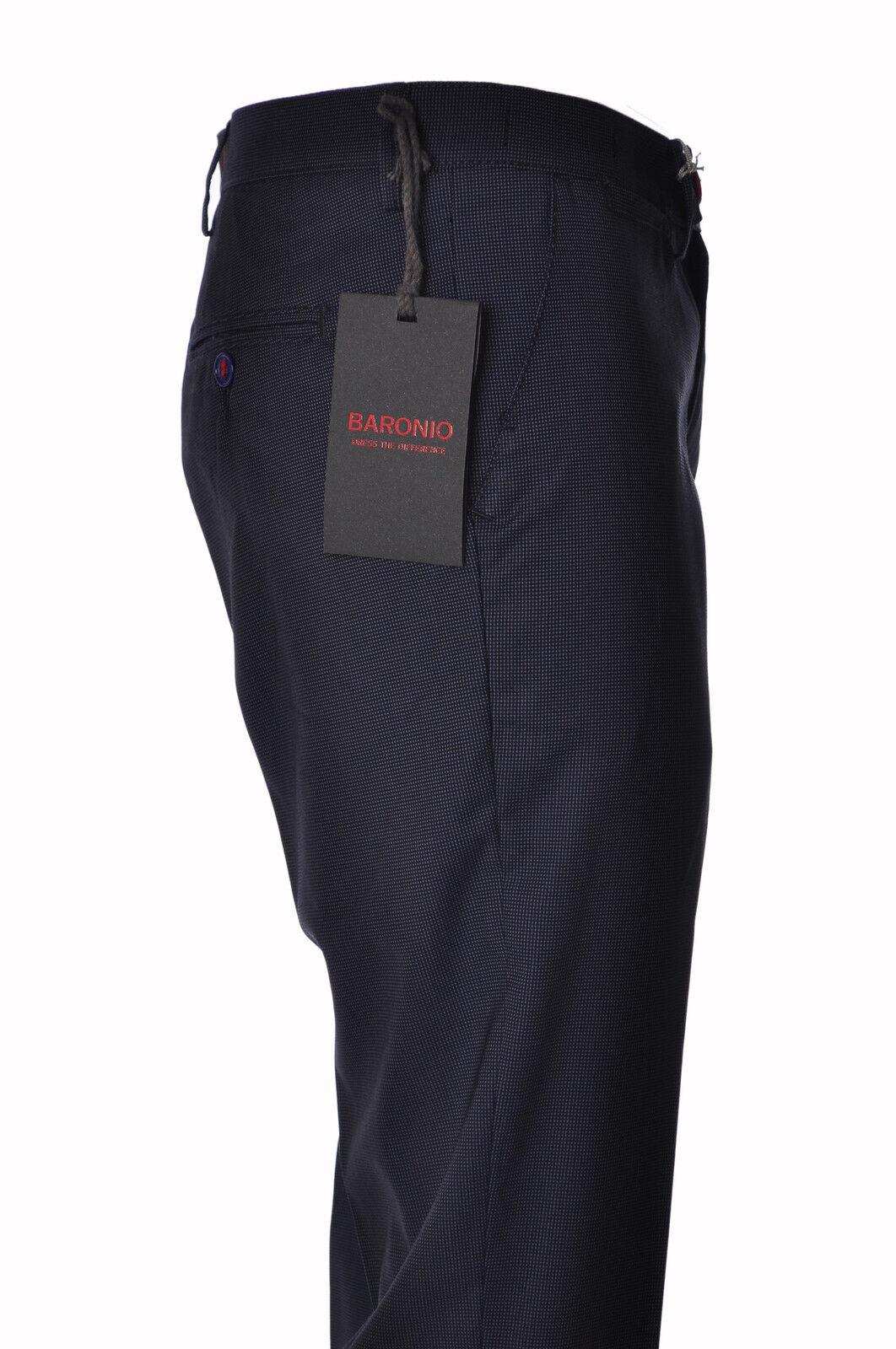Baronio - Pants-Pants - Man - bluee - 3225006C195619