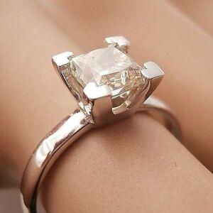 Anello-con-Diamante-solitario-Princess-in-oro-bianco-14K-1-03-Ct-VS1-VS2-FG