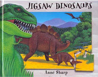 Jigsaw Dinosaurs by Anne Sharp (Novelty book)