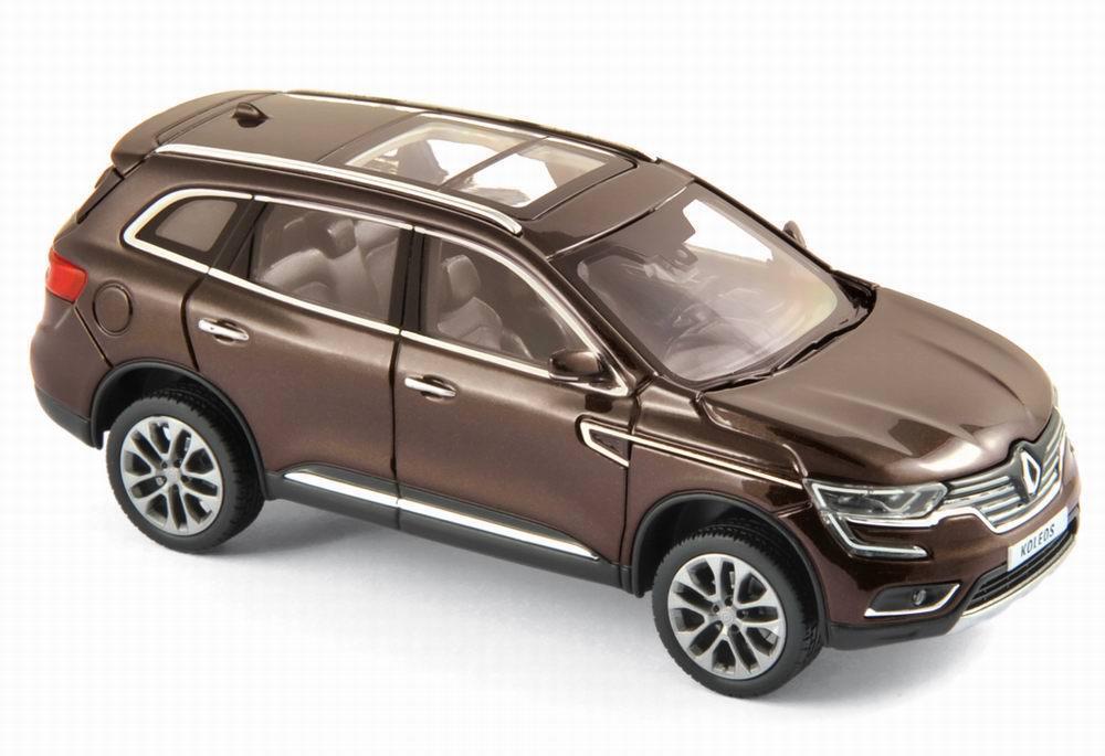 Autos miniatur renault koleos di 2016 aber metallizzato norev 1   43