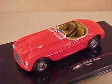 Ixo 1/43 Diecast 1948 Ferrari 166MM Open Top Spyder with RHD, Red  #FER047
