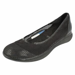 Nero-da-donna-tessuto-ROCKPORT-scarpe-stile-SK61388-UK-4-5-US-7M