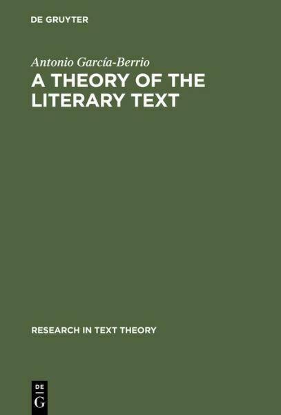 A Theory of the Literary Text