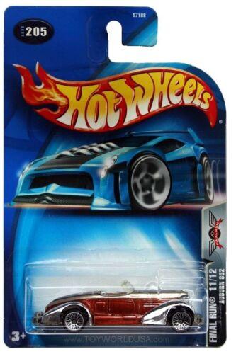 2003 Hot Wheels #205 Final Run Auburn 852 lace wheels