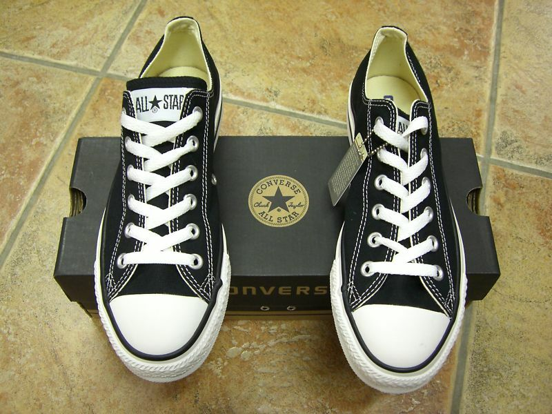 Converse Chucks All Star OX Gr.38  Black  Schwarz  Neu Top Trendy