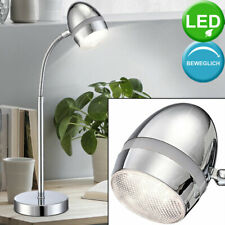 4er Set LED Tisch Lampen Wohn Zimmer Lese Beleuchtung Tages Licht Flexo Leuchten