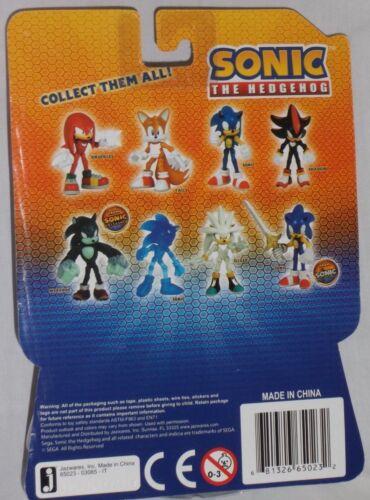ToysRus EXCLUSIVE Jazwares SONIC HEDGEHOG Poseable Action Figure SILVER Sega HTF