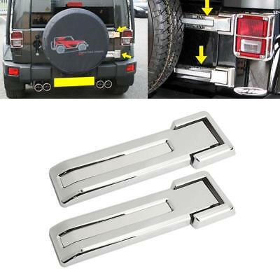 Rear Tailgate Spare Tire Car Door Hinge Covers Trim For