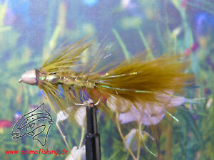 "Streamer /"" Golden Bullet Flash Olive /""  3er Set"