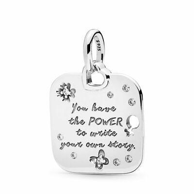 BULK 5 pcs Black Empowerment Rose Gold Stainless Steel Charm Pendants Beauty Girl Woman Women Power Strength Pride Empowerment Charms #1856